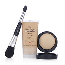 Laura Geller The Perfect Pair Correct & Illuminate Collection & Brush