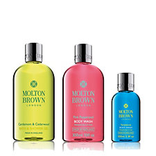 Molton Brown Relax & Revive 3 Piece Body Wash Collection