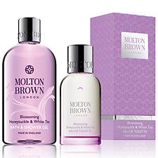 Molton Brown Honey Suckle White Tea 2 Piece Body Collection