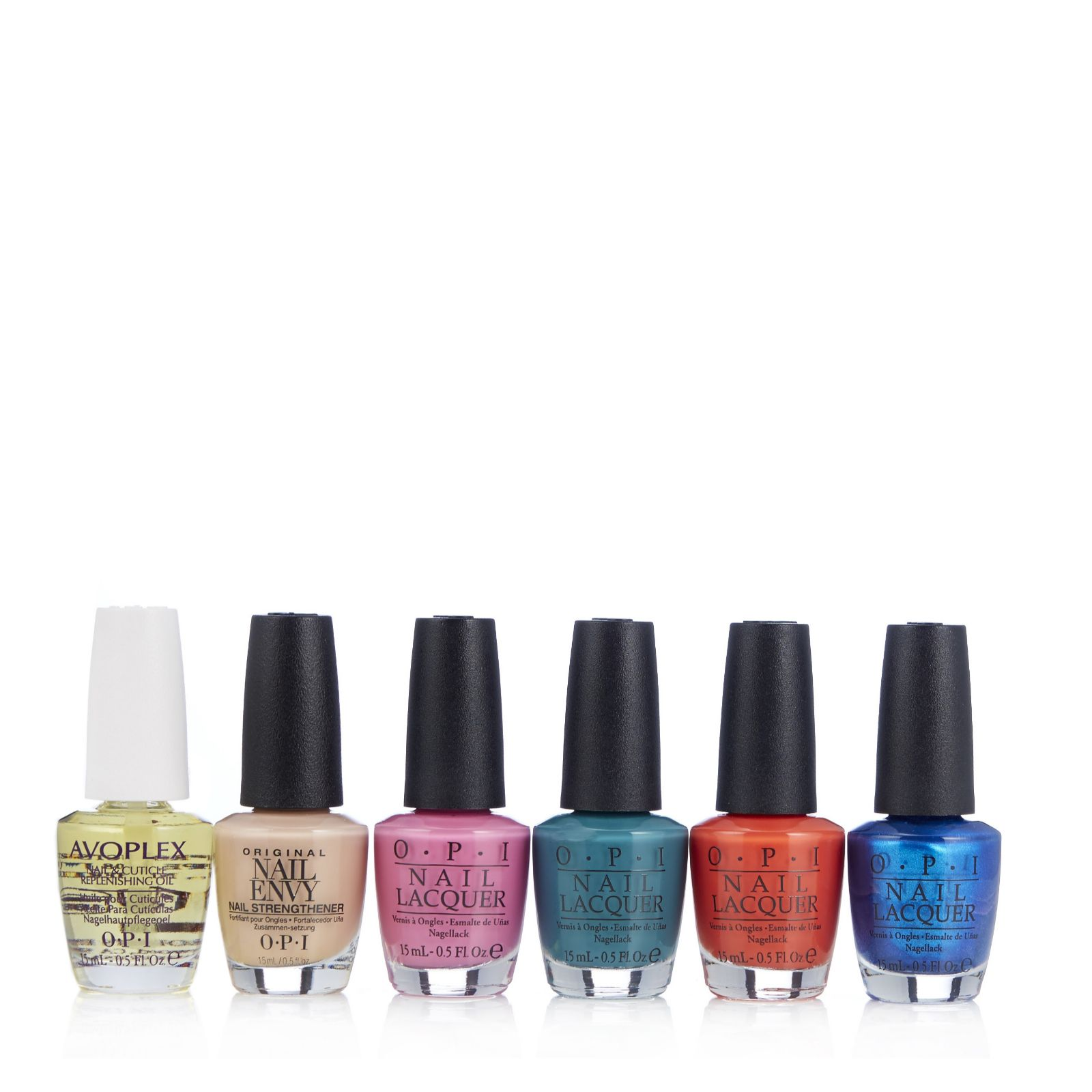 OPI 6 Piece Fiji Colour Collection with Bag - QVC UK