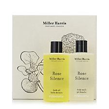 Miller Harris 2 Piece Rose Silence Body Wash & Bath Oil