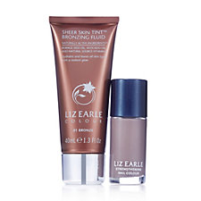 Liz Earle Sheer Skin Tint Bronzing Fluid & Nail Colour