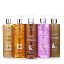 SBC 5 Piece Favourites Shower & Gel Collection 500ml