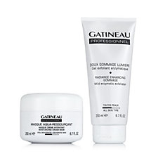 Gatineau 2 Piece Radiance Gommage & Moisturising Cream Mask 200ml
