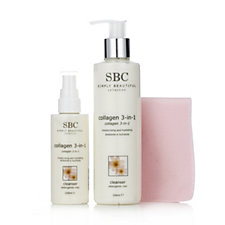 SBC 2 Piece 3 in 1 Collagen Cleanser Collection