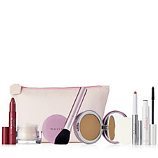 Mally 6 Piece Barely There Make-Up Collection with Cosmetic Bag
