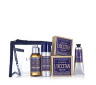 L'Occitane 5 Piece Men's Travel Collection with Bag
