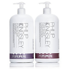 Philip Kingsley Pure Silver Shampoo & Conditioner 1 Litre