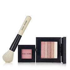 Bobbi Brown Shimmer Brick, Blush & Face Blender Brush
