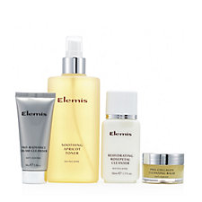 208073 - Elemis 4 Piece Cleansing Wardrobe and Toner