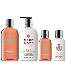 208273 - Molton Brown Gingerlily 4 Piece Body Wash & Lotion Collection