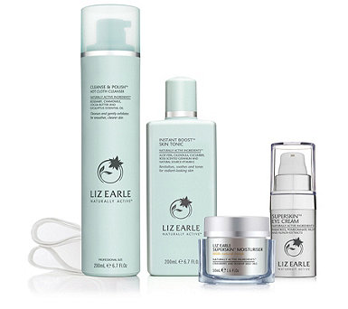 Liz Earle 4 Piece Step Into Superskin Collection - 215873