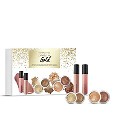 bareMinerals 6 Piece Dipped in Gold Make-up Collection