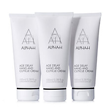 Alpha-H 3 Piece Age Delay Hand & Cuticle Cream Gift Set
