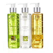 SBC 3 Piece Vitamin Gel Collection 250ml