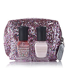 Deborah Lippmann 2 Piece Nail Collection & Pink Glitter Bag