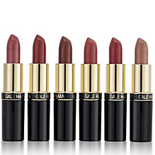 218075 - Gale Hayman 6 Piece Sultry Lipstick Collection