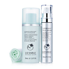 Liz Earle Superskin Face Serum with Cleanse & Polish 50ml Pump