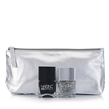 Nails Inc 2 Piece Diamonds are Forever Collection with Bag