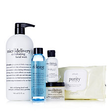 Philosophy 4 Piece Spring Clean Skincare Collection