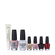 OPI 7 Piece Nail Lacquer & Treatment Collection