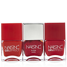 Nails Inc 3 Piece Code Red Nailcare Collection