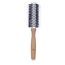 Taya Amazon White Clay & Wooden Round Brush