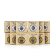 L'Occitane 12 Piece Verbena & Milk Shea Soap Collection