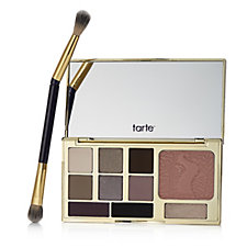 tarte Energy Noir Clay Palette with Double Ended Brush