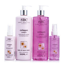 SBC 4 Piece Collagen Hand and Body Collection