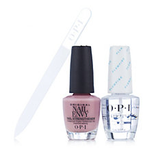 OPI Hawaiian Orchid Nail Envy with Top Coat & Crystal Nail File