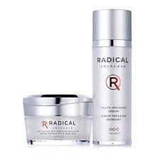 Radical Skincare Youth Infusion Serum & Anti Ageing Restorative Moisture Set