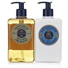218881 - L'Occitane Almond Liquid Soap & Ultra Rich Shea Body Lotion