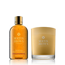 231681 - Molton Brown Oud Accord 2 Piece Bath & Candle Collection