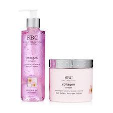 SBC 2 Piece Collagen Body Butter & Skincare Gel