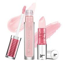 IT Cosmetics Vitality Lip Blush Gloss Stain & Lipstick Duo