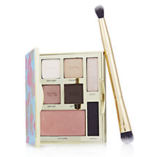 Tarte Double Duty Beauty Happy Girls Shine Brighter Palette with Brush