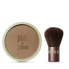 Pixi Beauty Bronzer in Summertime & Kabuki Brush