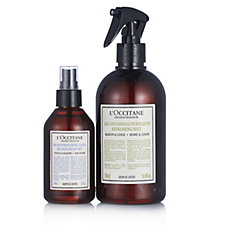 L'Occitane 2 Piece Purifying & Relaxing Linen Spray Collection