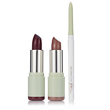 218785 - Pixi 3 Piece Mattelustre Lipsticks & Lip Liner
