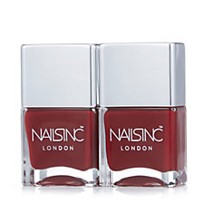 Nails Inc Chelsea Green Nail Lacquer Duo