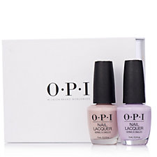 OPI Very First Knockwurst & Polly Want a Nail Lacquer Duo