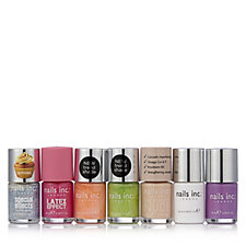 Nails Inc 7 Piece Brights Nailcare Collection