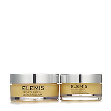 Elemis Pro-Collagen Cleansing Balm Home & Away 105g & 50g Duo
