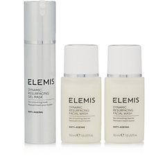 Elemis Dynamic Resurfacing Gel Mask & Travel Cleansers