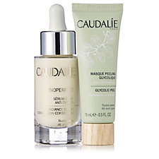 Caudalie 2 Piece Radiance Serum & Peel Collection