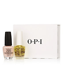 OPI 2 Piece Bubble Bath Envy & Avoplex With Gift Box