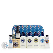 L'Occitane 10 Piece Happy Holiday Collection with Bag
