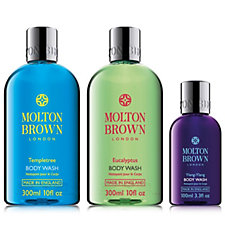 213190 - Molton Brown 3 Piece Body Wash Collection