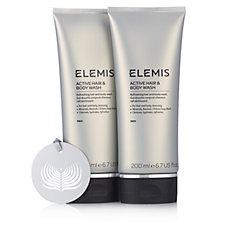 Elemis Men's Active Hair & Body Wash Duo
